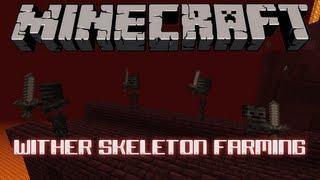 Wither Skeleton Farming Tutorial