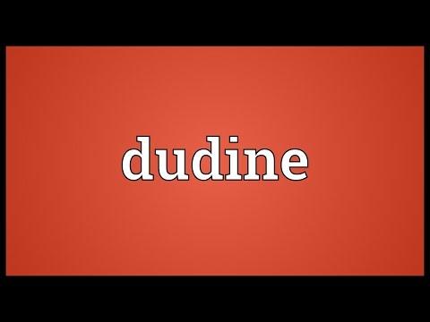 Header of dudine