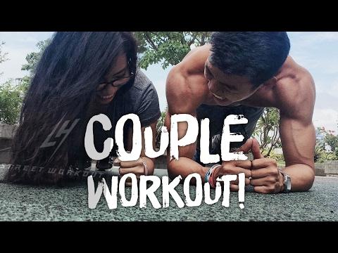 Couple workout phiên bản FRIENDZONE :)))