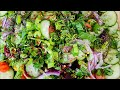 How to make a delicious healthy weight loss salad for lunch from Chef Ricardo cooking 🥗💯