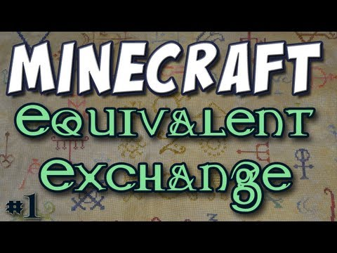 Minecraft - Mod Spotlight - Equivalent Exchange Part 1 (512 Cobblestone = 1 Diamond) Music Videos