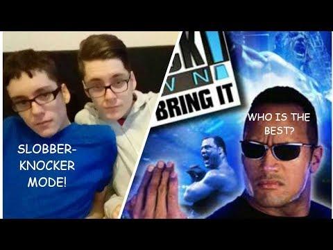 Teens Play WWF Smackdown Just Bring It thumbnail