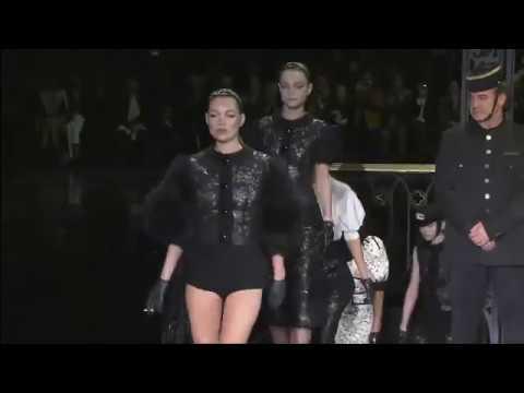 Louis Vuitton Fall 2011 Fashion Show ft. Kate Moss