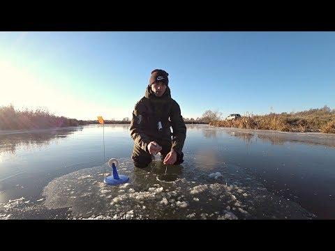 Вот что происходит когда жерлицы оставляешь без присмотра! Рыбалка на Жерлицы по первому льду 2018.