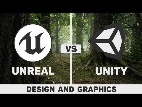 Unity vs Unreal | Design, Graphics & Performance