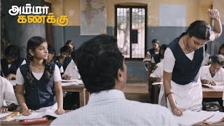 Amala Paul and Abhi Working Hard in Samuthirakani Math Class to Score high - Amma kanakku