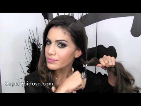 Penteado Facil: Coque de Lado romantico por Camila Coelho