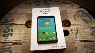 Unboxing en Español Alcatel One Touch Pixi8