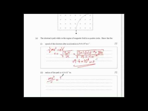 IB physics M11 TZ1 SL P2 section A