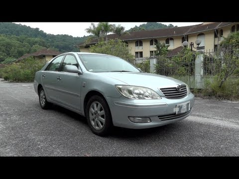 2004 Toyota Camry 2.4V (XV30) Start-Up. Full Vehicle Tour and Quick Drive