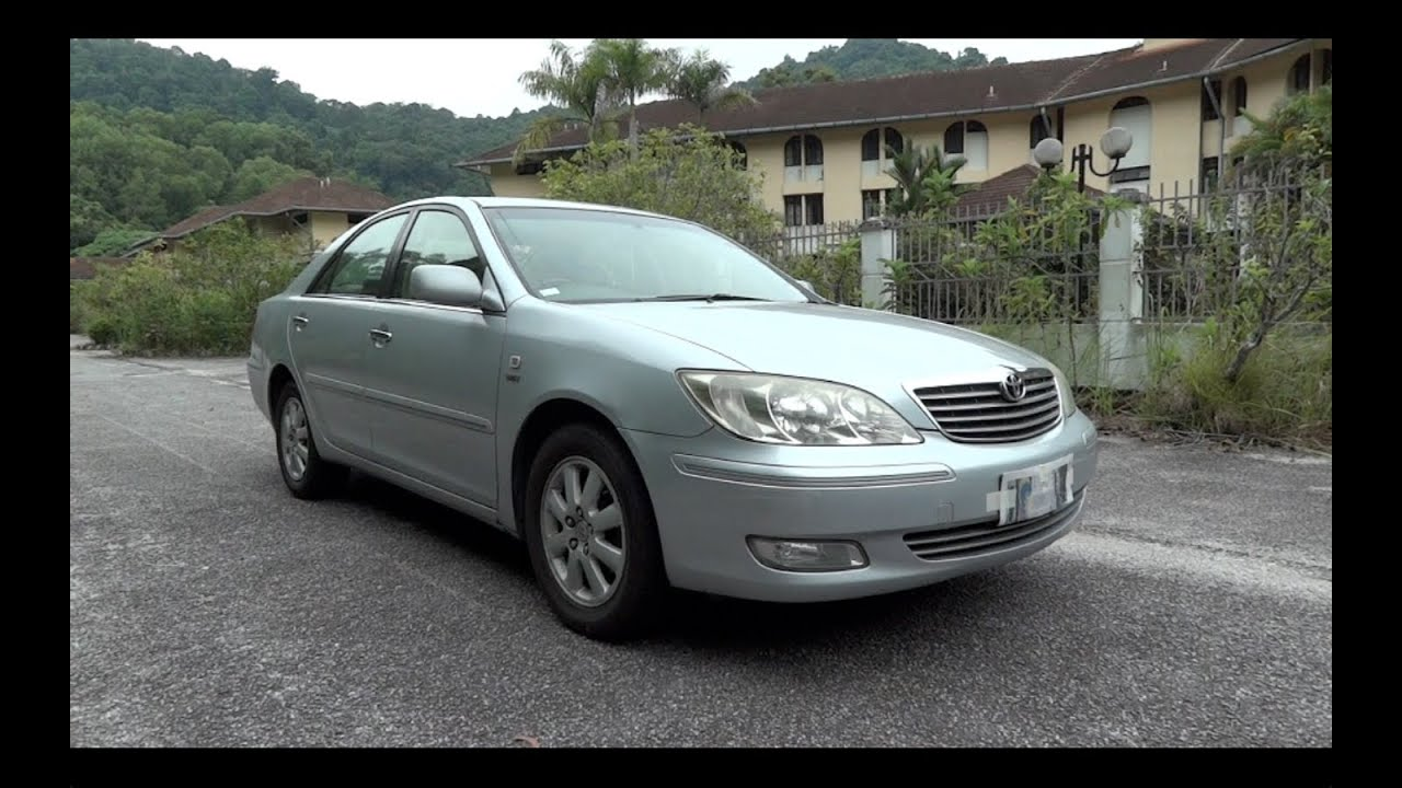 2004 toyota camry 2 4v xv30 start up full vehicle tour and quick drive y. Black Bedroom Furniture Sets. Home Design Ideas