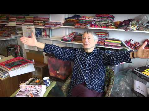 An interview with Kaffe Fassett