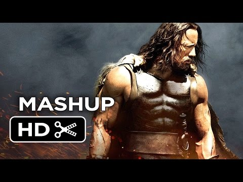 "The Legend of Dwayne ""The Rock"" Johnson Ultimate Mashup - Movie HD"
