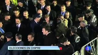 HD Nicos Anastasiades VIDEO - At least 30 - Conservative Is Elected President in Cyprus - 25.02.2013
