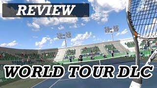 DREAM MATCH TENNIS WORLD TOUR DLC   PSVR Review