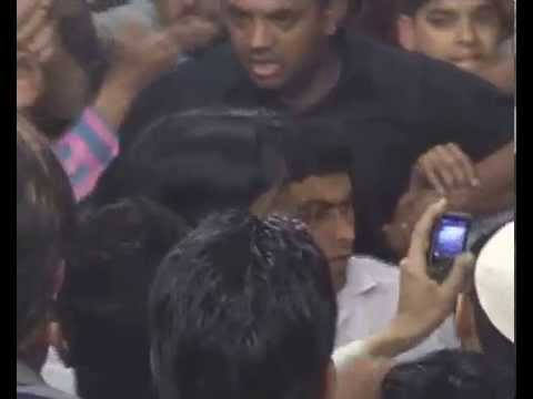 Video: Nagma Slaps Youth For Misbehaving With Her In Election Rally video