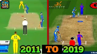🔥Evolution Of Wcc-2 Cricket Game (2011 To 2019) With Gameplay | Must Watch