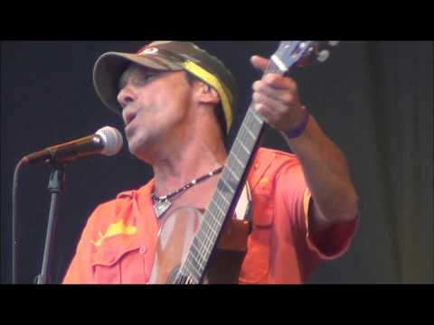 MANU CHAO & La Ventura ( part 1) LIVE at Rotterdam Unlimited 15-6-2013.