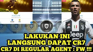 HOW TO GET CRISTIANO RONALDO IN REGULAR AGENT : FW !!! PES 2019 MOBILE