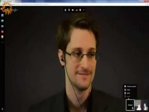 Ordfront awards 2014 Democracy Prize to Edward Snowden
