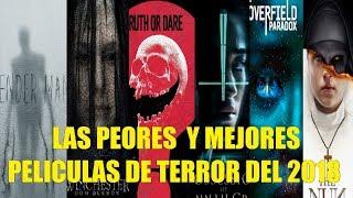 Las Peores y Mejores Películas de Terror del 2018 Segun Rotten Tomatoes