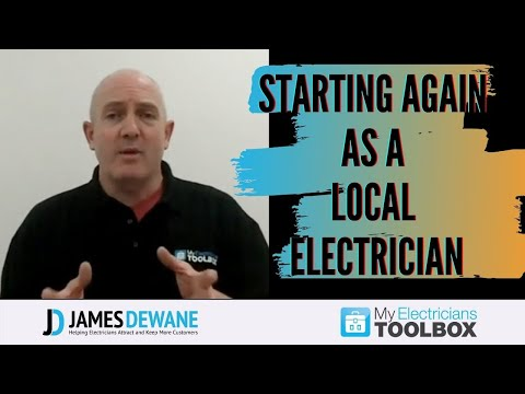Starting Again As A Local Electrician