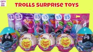 Blind Bags Opening Dreamworks Trolls Surprise TOYS Series 2 3 5 Chupa Chups Eggs KIDS FUN