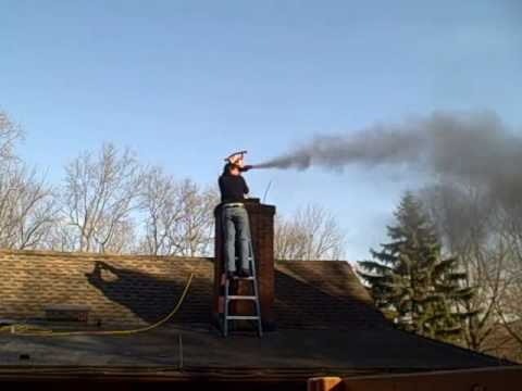 Leaf Blower Vacuum Pellet Stove Chimney Cleaning Youtube