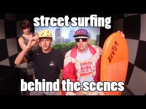 GoPro: Street Surfing on Fox News | Behind the Scenes