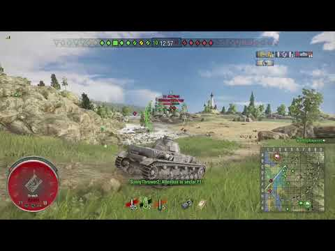 World of Tanks Xbox one Pz.Kpfw. IV Ausf. A 7 Kills