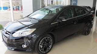 Focus Sedan Titanium 2014 Preto Gales - www.car.blog.br