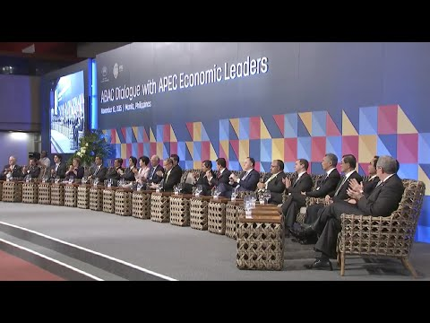 Leaders of APEC Economies Arrive for Dialogue with ABAC