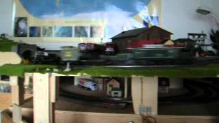 "Big Transport with ""German Krokodil"" Schwertransport mit ""Deutschem Krokodil"""