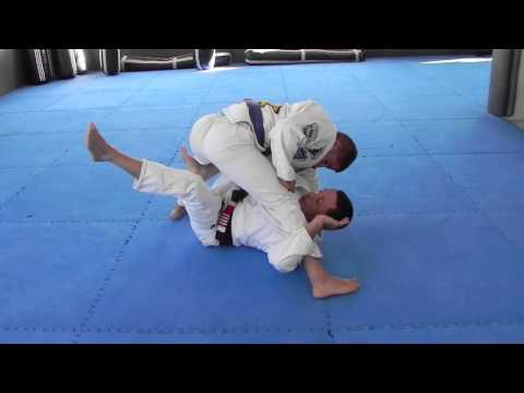x-guard sweep from butterfly guard Image 1