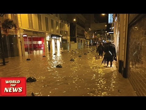 France floods: 16 dead on Riviera after storms - 04 Oct 2015