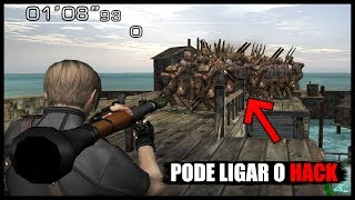 VOCÊ VAI PRECISAR DE HACK PARA PODER JOGAR ISSO!! - Resident Evil 4 (Bem Vindos ao Modo Inferno)