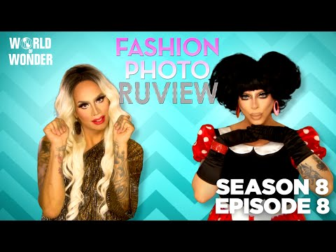 "RuPaul's Drag Race Fashion Photo RuView w/ Raja and Raven Season 8 Episode 8 ""RuPaul Book Ball"""