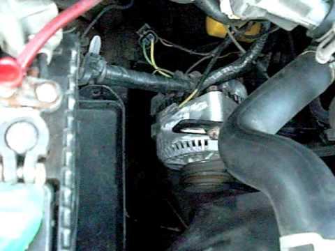 95 Ford Windstar 130amp Alternator Installed On A 91 Mazda