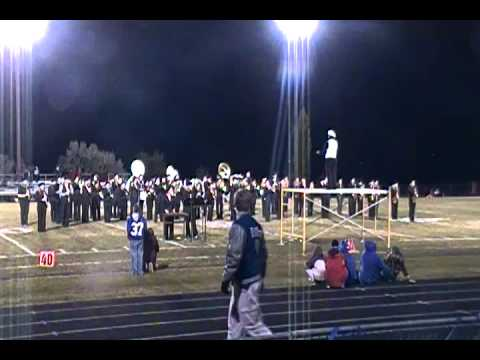 Moffat County High School Homecoming Half Time Show 2011