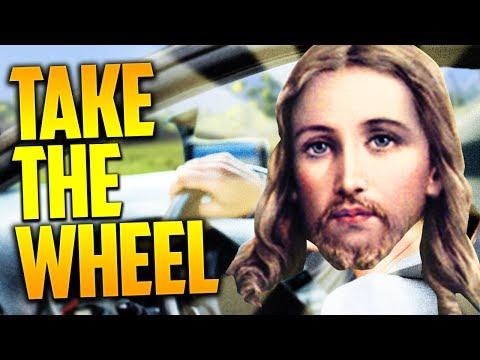JESUS TAKE THE WHEEL! (H1Z1 King of the Kill)