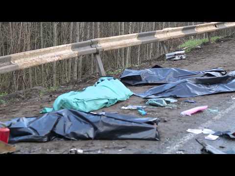 Авария на 4-ом км дороги Сыктывкар - Ухта