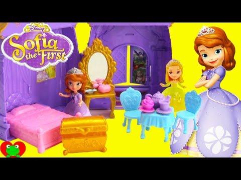 Disney Princess Sofia The First Castle Bedroom Surprises