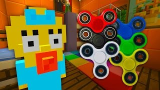 Maggie Gets A Fidget Spinner | The Simpsons | Minecraft Xbox [65]