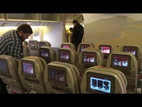 Boeing 777 Emirates W Warszawie - Wizyta Na Pokładzie