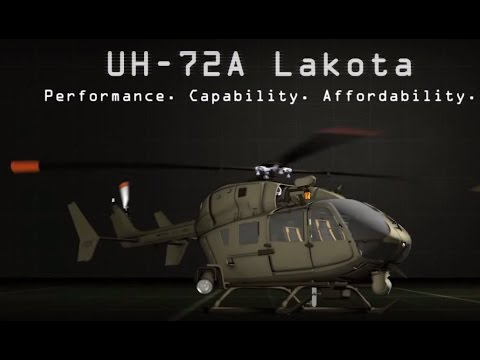 Airbus Group - UH-72A Lakota Helicopter With S&S Battalion Mission Package [720p]