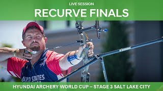Live Session: Recurve Finals | Salt Lake City 2018 Hyundai Archery World Cup S3