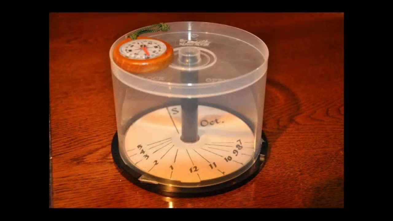simple sundial how to make youtube. Black Bedroom Furniture Sets. Home Design Ideas