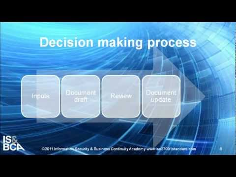 Decision-making process | How to Write ISO 27001/ISO 22301 Document Control Procedure