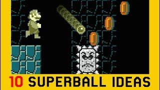 10 Ideas for the Superball Flower Power-Up - Super Mario Maker 2