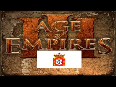 Age of Empires III | Império Português vs Império Espanhol